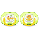 Philips Avent Free Flow Pacifiers 2pc (18m+)