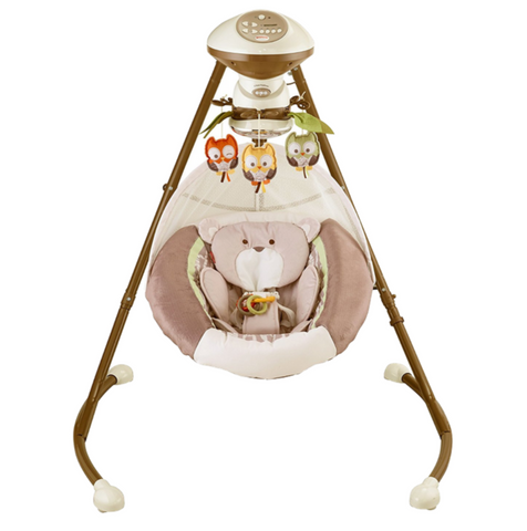 Fisher-Price My Little Snugabear Cradle 'N Swing (US Version)