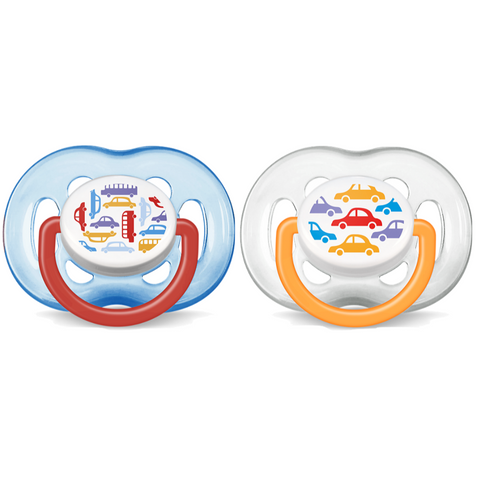 Philips Avent Free Flow Pacifiers 2pc (6-18m)