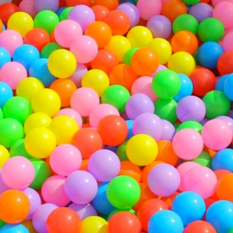 Colourful Ocean Balls 100pcs