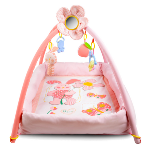 Baby Play Gym - Pink Rabbit