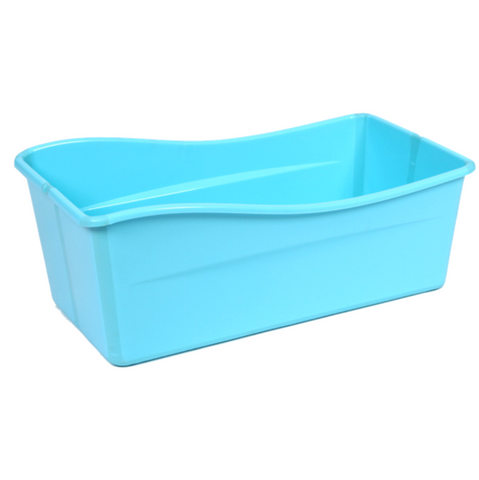 Baby Folding Bath Tub - Blue