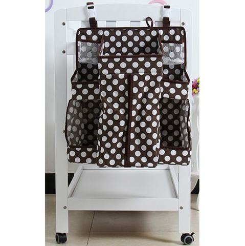 Baby Cot Organiser - Brown