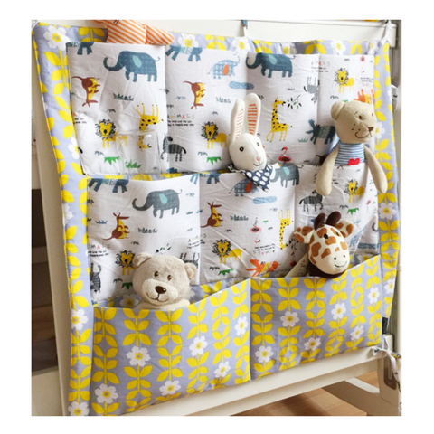 Baby Cot Organiser - Animals