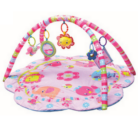 Baby Play Gym - Pink Animals