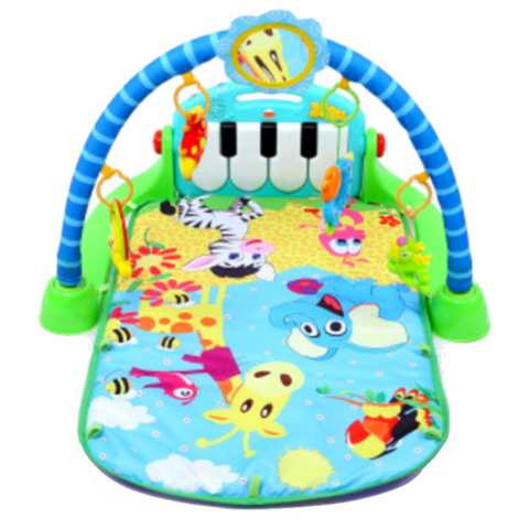Baby Kick & Play Piano Gym - Blue