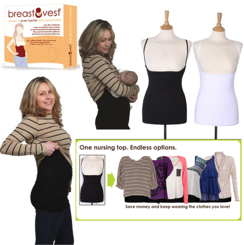 Breastvest Breastfeeding Top