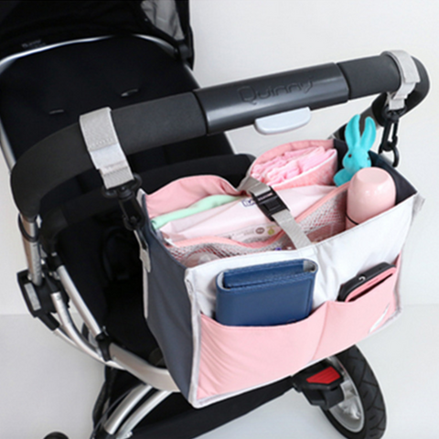 2-in-1 Diaper Bag Organiser (Pink)