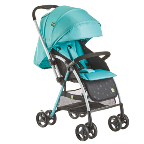 Happy Dino Reversible Stroller - Mint