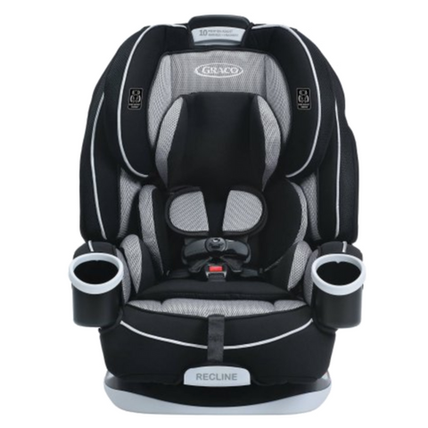 Graco 4ever All-in-One Convertible Car Seat - Matrix (Birth - 54.5kg) USA