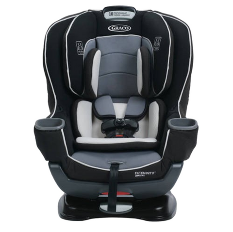 Graco Extend2Fit Convertible Car Seat - Gotham (Birth - 30kg) USA
