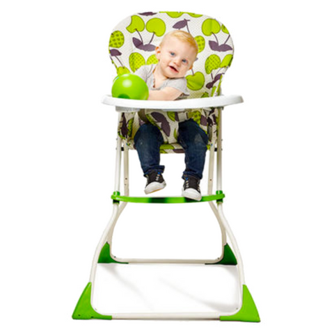 Happy Dino Baby High Chair - Blue