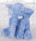 Elephant Lumbar Pillow for Baby