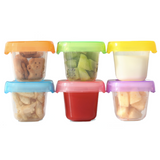 Baby Food Storage Container Set 6pcs Set