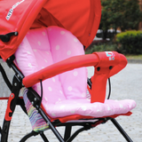 Baby Stroller Pad - Pink