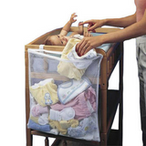Multifunction Baby Diaper Nappy Cot Hanging Mesh Bag