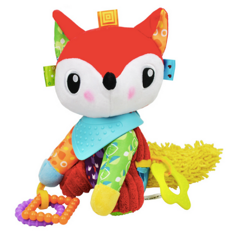 Multifunctional Activity Plush Toy - Fox