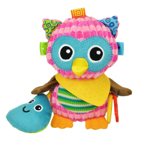 Multifunctional Activity Plush Toy - Owl