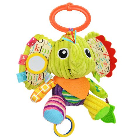 Multifunctional Activity Plush Toy - Elephant