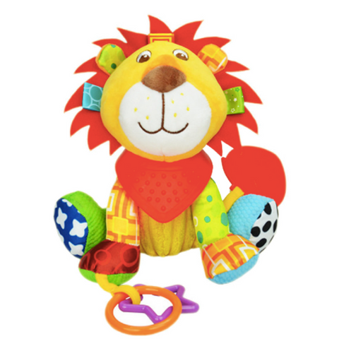Multifunctional Activity Plush Toy - Lion