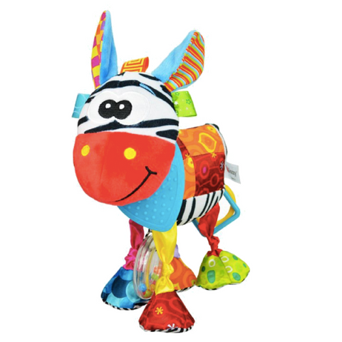 Multifunctional Activity Plush Toy - Zebra