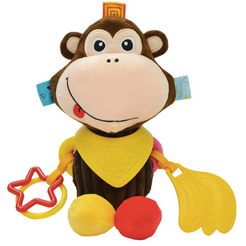 Multifunctional Activity Plush Toy - Monkey