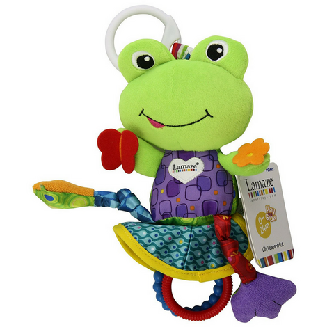 Multifunctional Premium Activity Plush Toy - Frog