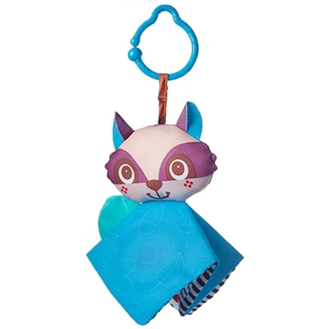 Crinkly Raccoon Tiny Love Clip on Toy