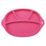 Silicone Feeding Plate - Hot Pink