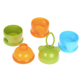Baby Milk Powder Dispenser/Snack Container - Bear (Green)