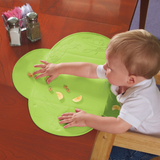 Silicone Waterproof Table Diner Mat - Blue