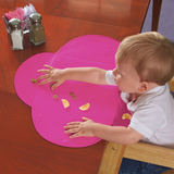 Silicone Waterproof Table Diner Mat - Pink