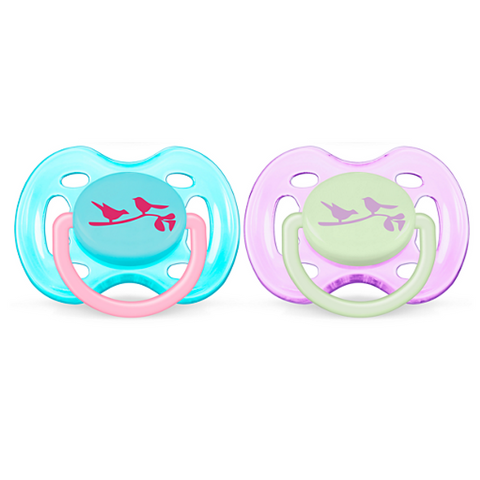 Philips Avent Classic Freeflow Pacifiers 2pc (6-18m)