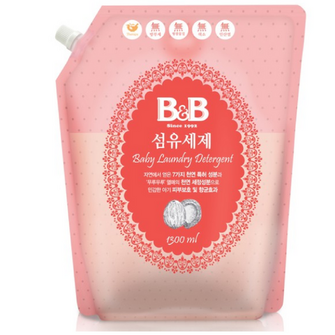 B&B Fabric Detergent Refill 1300ml