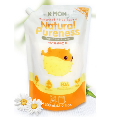 K-Mom USDA Organic Baby Fabric Softener Refill (1300ml)