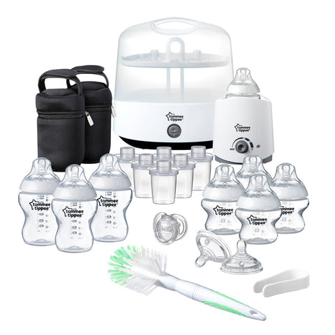 Tommee Tippee Closer to Nature Complete Feeding Set - White