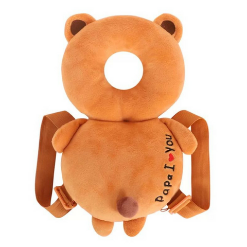 Toddler Head Guard - Brown Bear