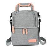 V-Coool Double Layer Cooler Bag - Grey
