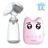 Real Bubee Single Electric Breast Pump - Pink