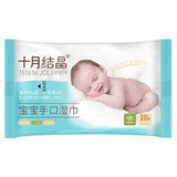 Ten-M Journey Hand & Mouth Travel Wipes - 10s