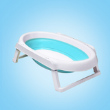 Babyhood Foldable Oval Bath Tub - Blue