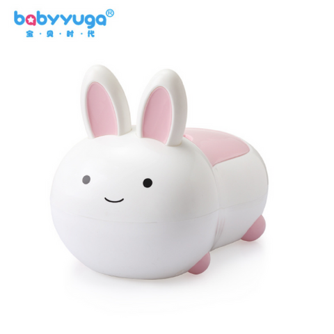 Babyyuga Rabbit Potty - White/Pink