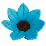 Flower Cushion Bath Support - Light Blue