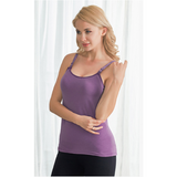 V-Coool Nursing Top - Purple