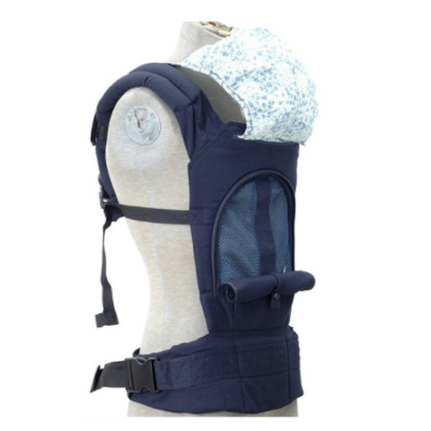 Baby Carrier - Floral Blue