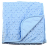 Baby Blanket - Double Layered (D001-Blue)