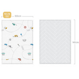 Parklon PURE Play Mat Size S (100) - On The Road