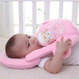 Baby Multipurpose Milk Support Pillow - Pink