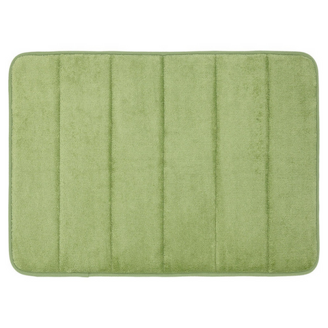 Memory Foam Floor Bath Mat - Green