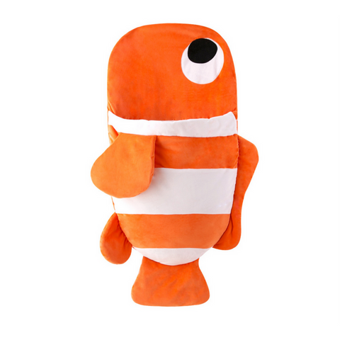 Sleeping Bag (Fish) 85cm - Orange Stripe